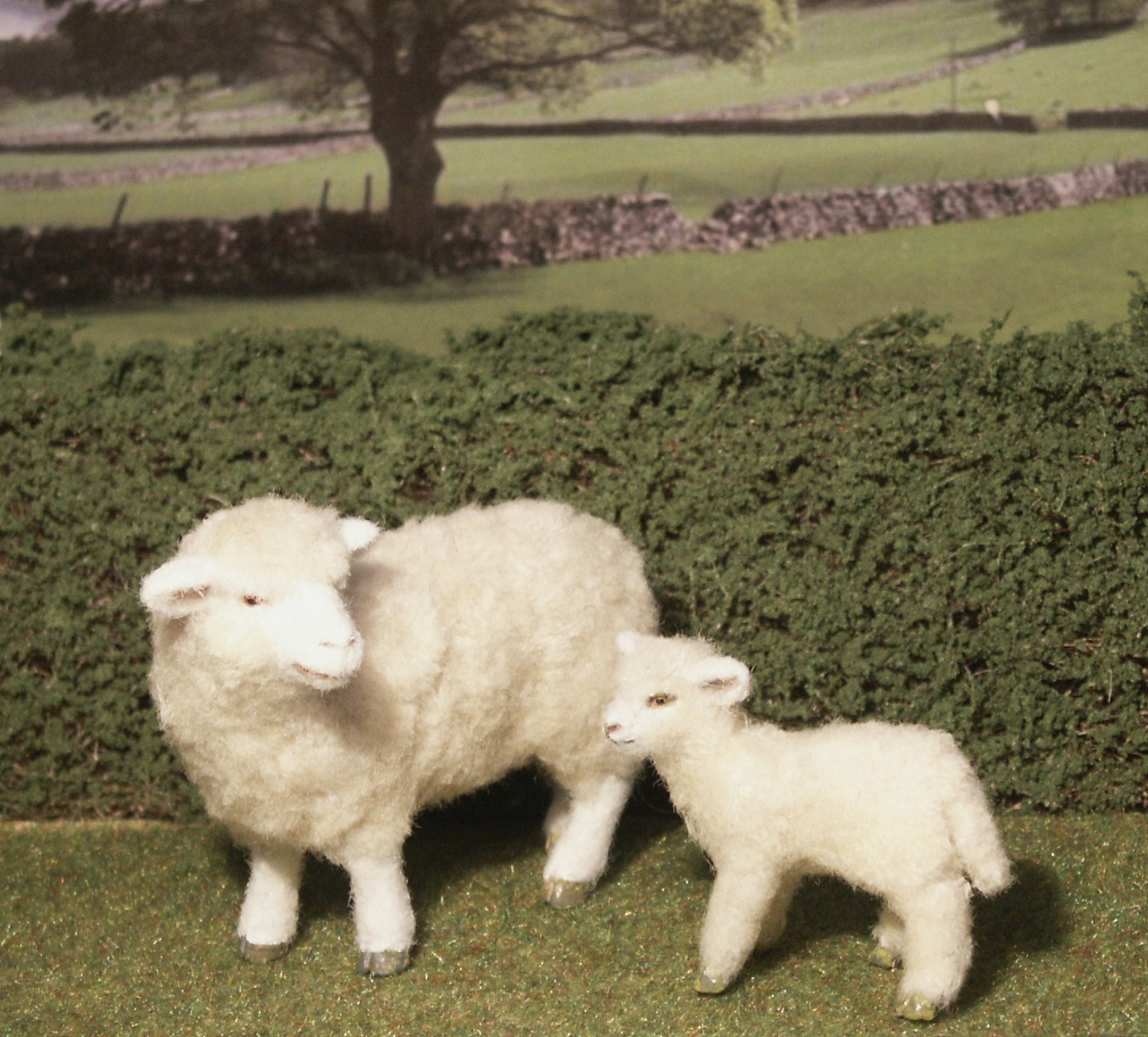Dolls house sheep