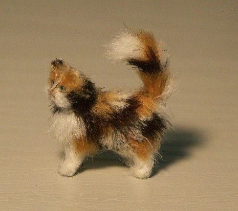 24th scale cat for the dolls house