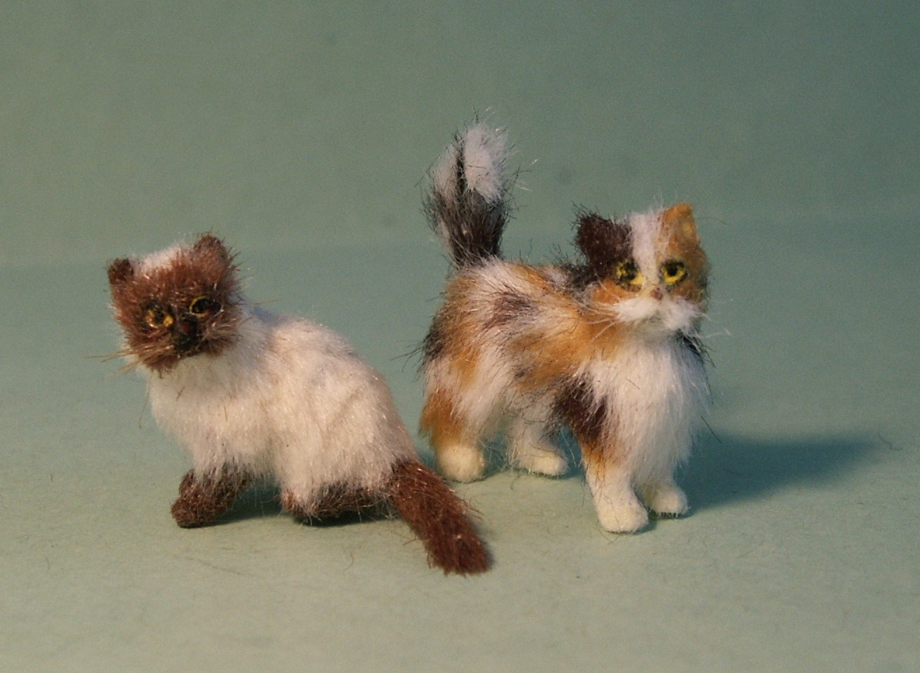 24th scale cats for the dolls house
