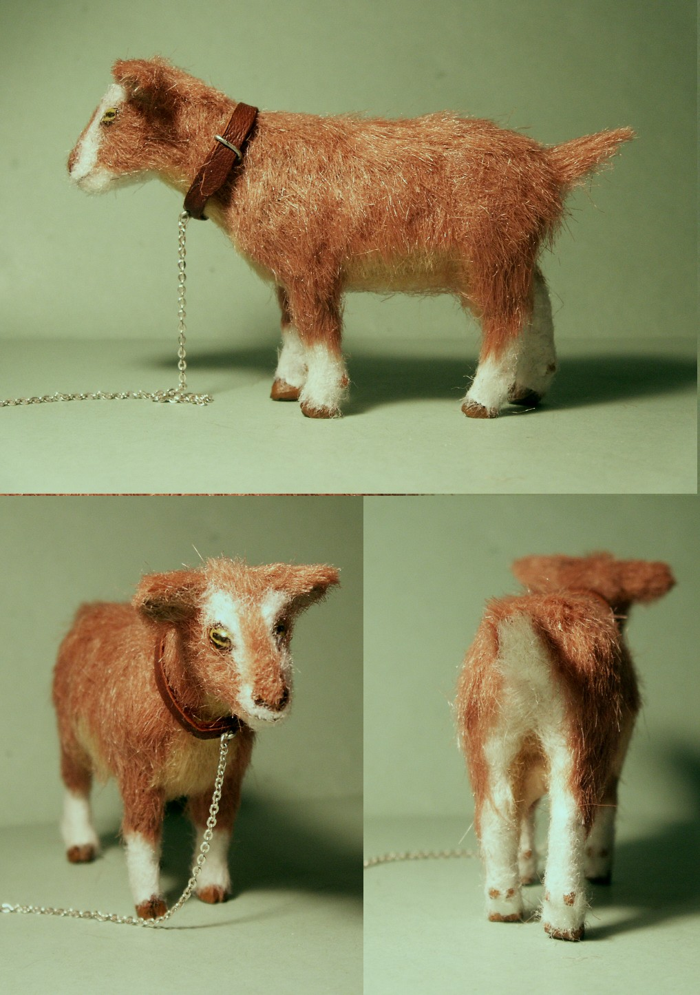 Nanny goat for the dolls house