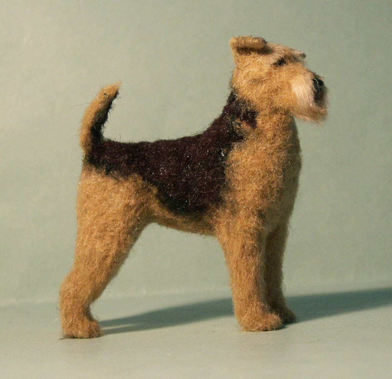 Airedale Terrier for the dolls house