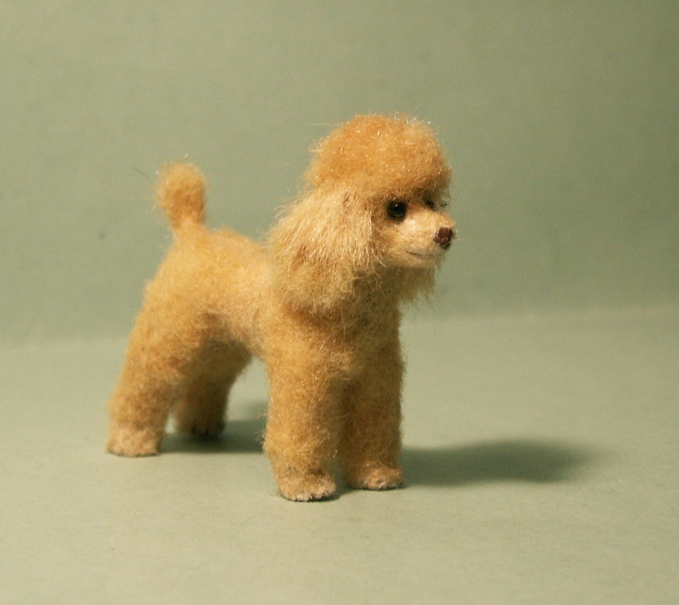 Poodle for the dolls house