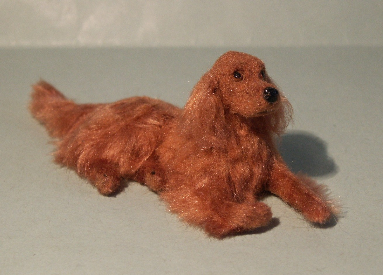 Irish setter for the dolls house