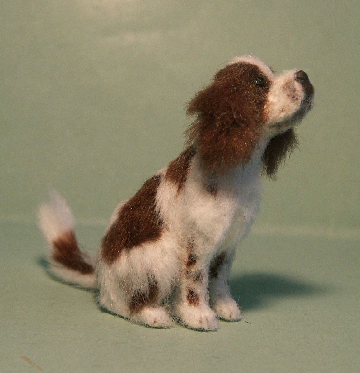 Springer Spaniel for the dolls house